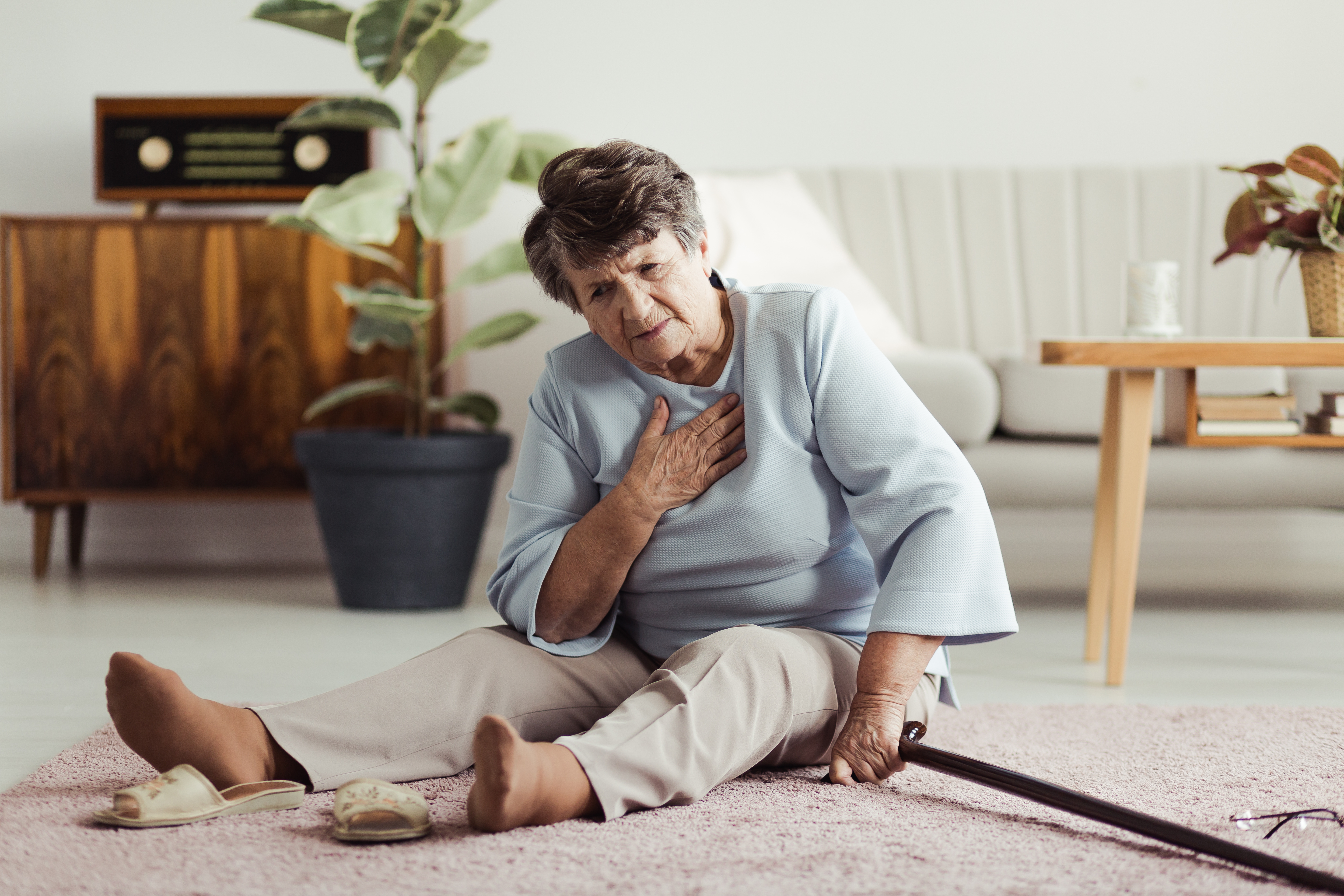 Are Seniors Falling More Than They Used To?